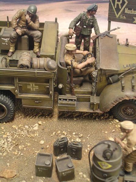 Die detaillierte Ausrüstung macht die Szene authentisch.