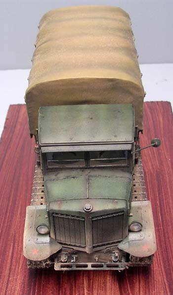 Der Voroshilovets wartet nun auf seinen Einsatz in ein packendes Diorama-arbeitslos soll er nicht bleiben!