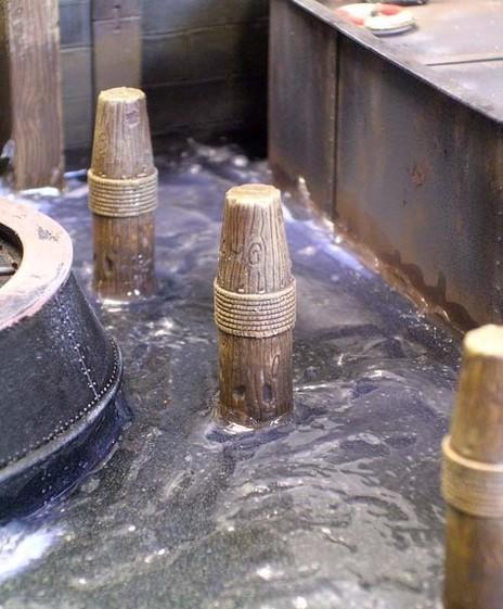 Wenn man bedenkt, daß die Wasserschicht gerade mal 2-4mm Dicke hat, ist das Ergebnis verblüffend.
