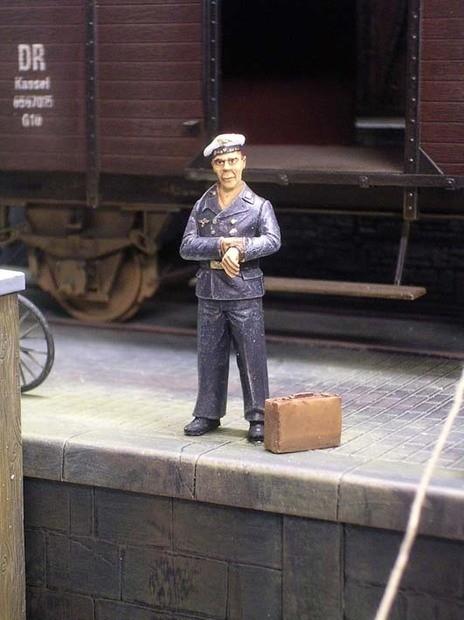 Matrosen der Kriegsmarine sind unheimlich pünktlich...
