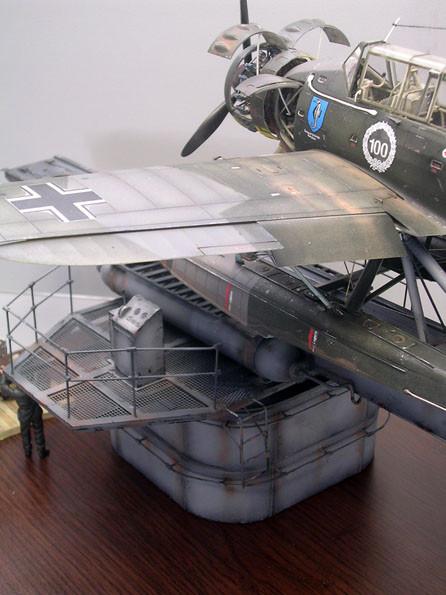 """Bis zum Aradocockpit sind es luftige """"12 Meter"""".."""