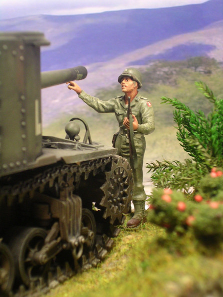 Die 75mm Kanone in dem vorderen, rechten Erker war zwar wirklungsvoll, aber doch in ihrem Schussfeld begrenzt.