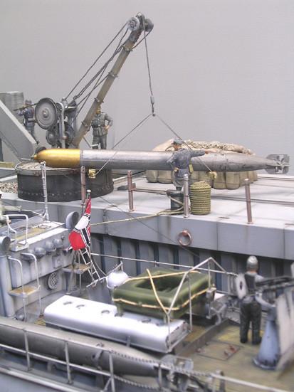 So kann die Torpedoübernahme auch realistisch in der Szene erfolgen