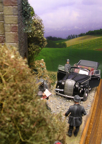 Das Diorama lässt viele kleine Perspektiven zu...
