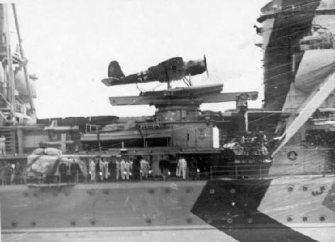 Das Gesamtdiorama wird die Arado samt Katapult sowie einen Teil der Bordarchitektur beinhalten.