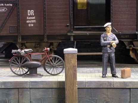 Mit dem Fahrrad gekommen?