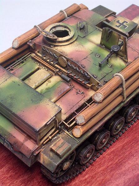Markant das sowjetische Panzer-MG.