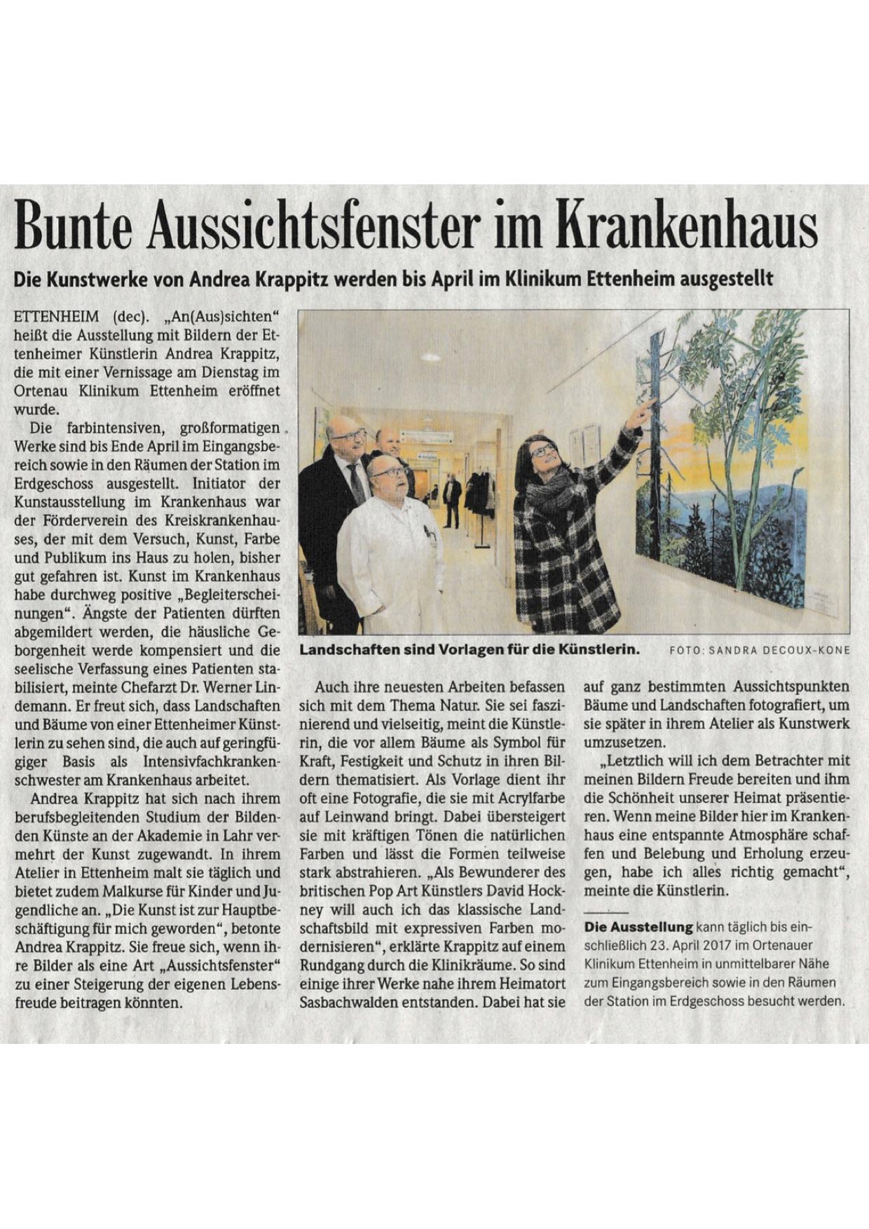 Badische Zeitung 12/2016