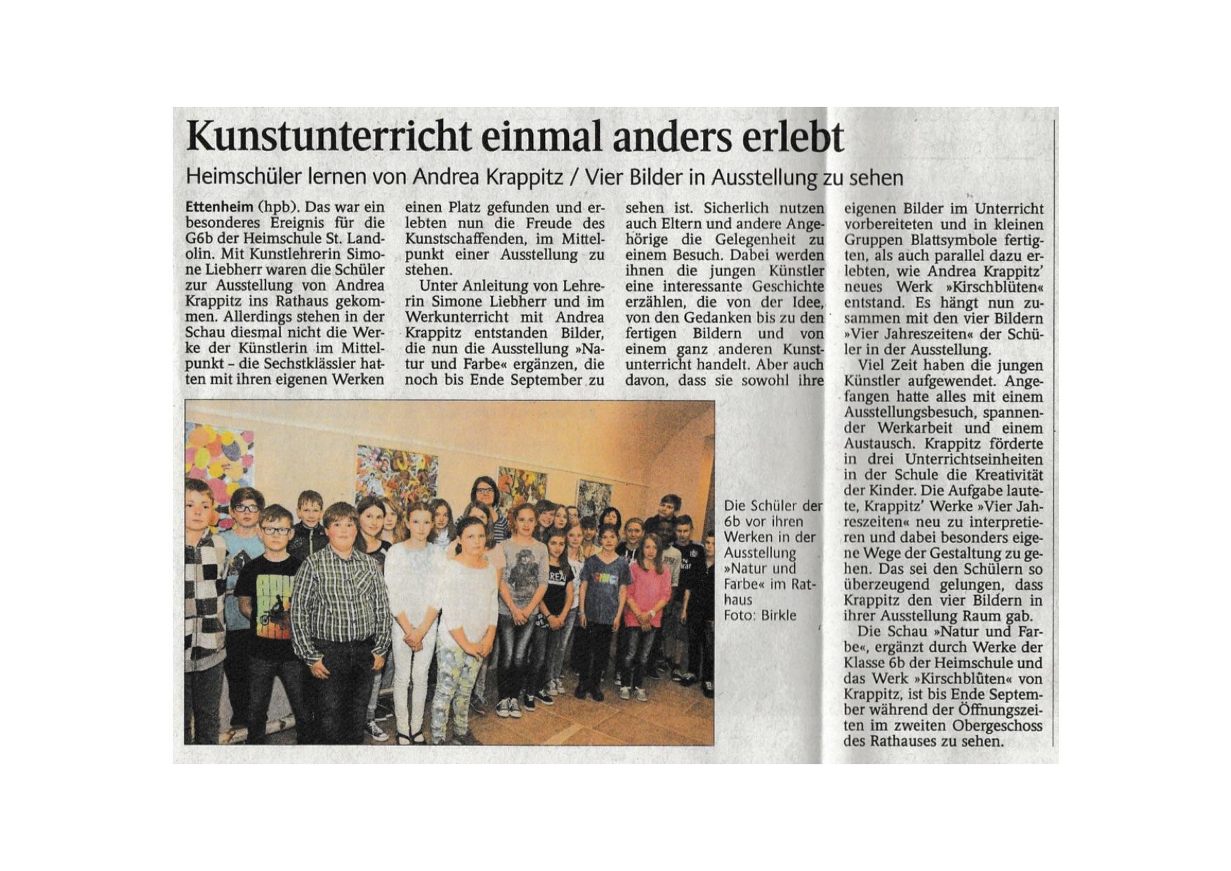 Ettenheimer Stadtanzeiger 04/2015