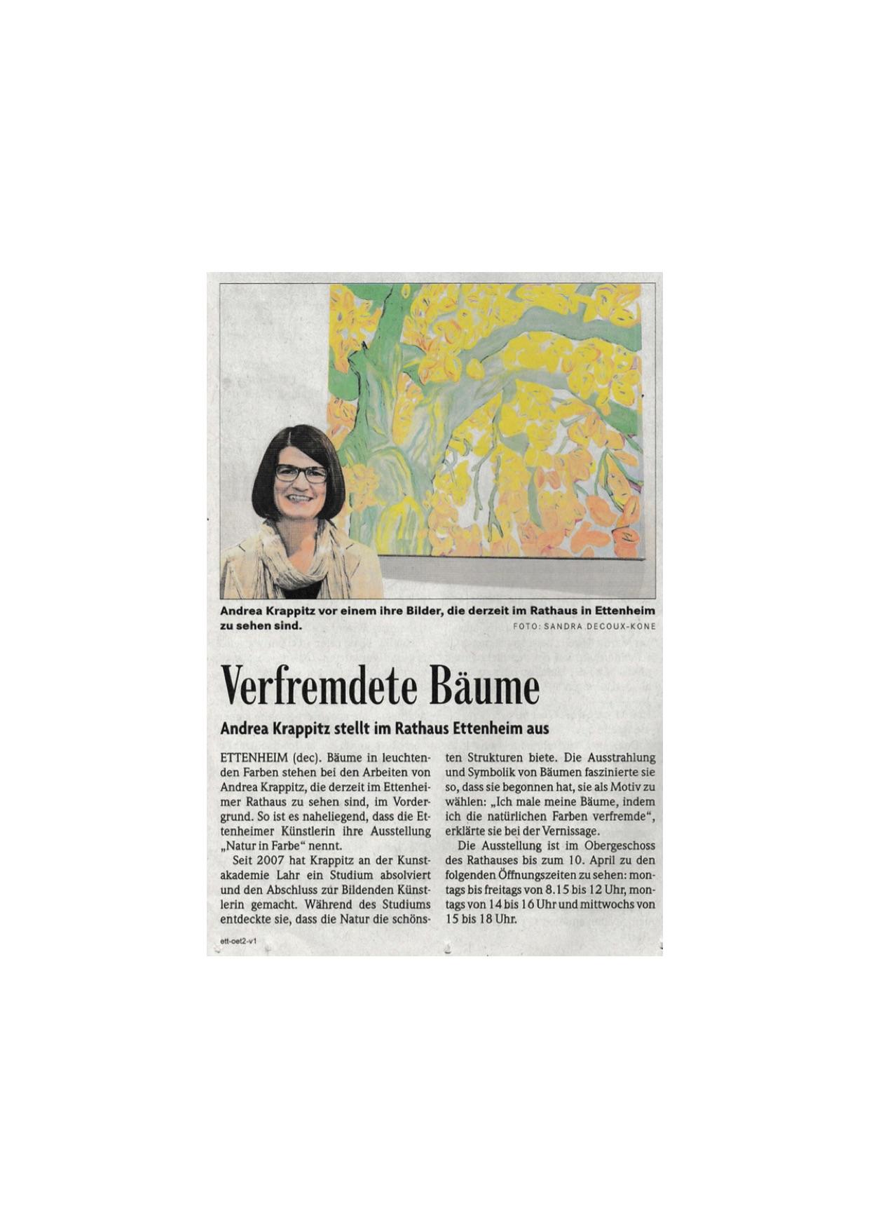 Badische Zeitung 01/2015