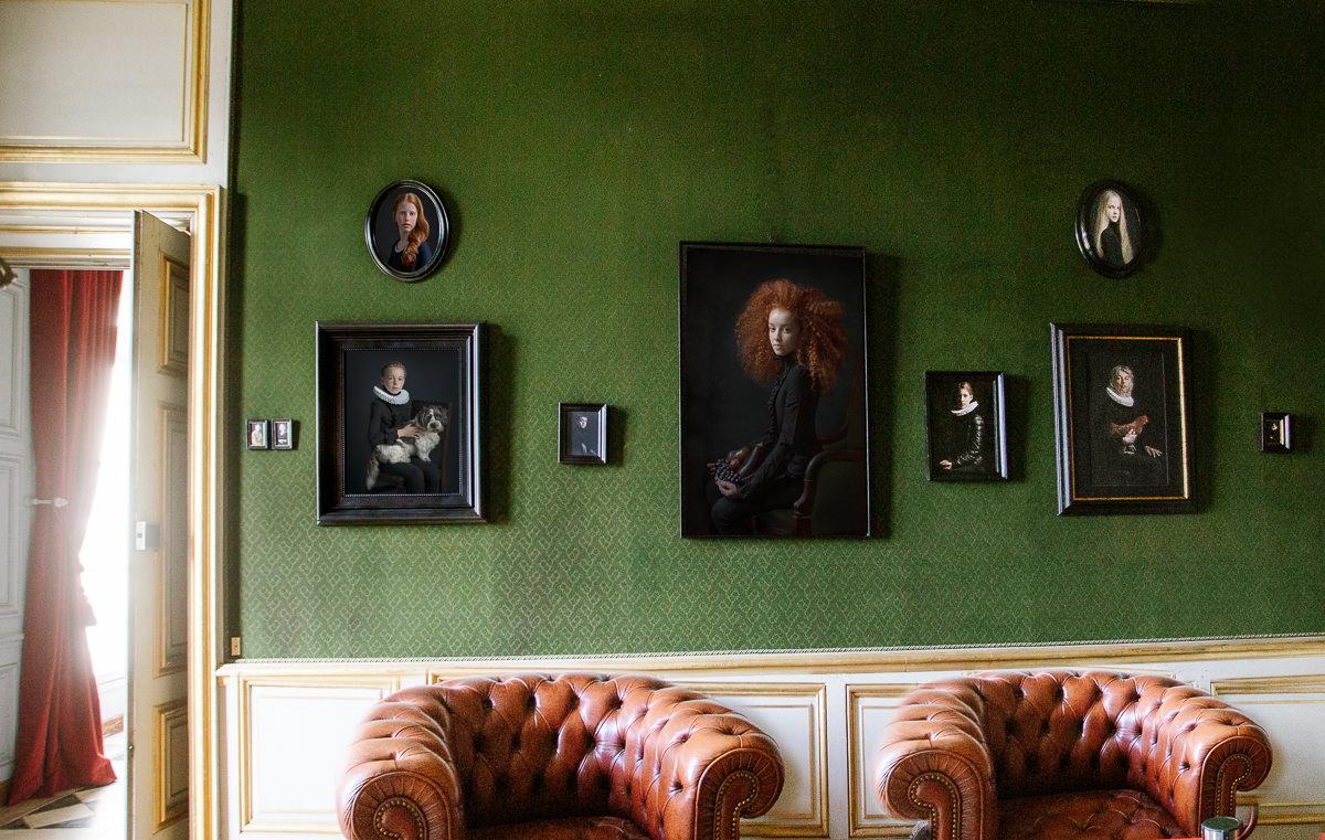 Artportrait @ Chateau Groussay a Montfort l'Amaury