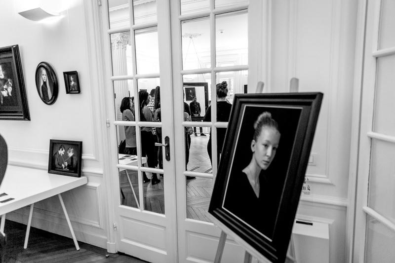 Artportrait, Claudine Grin, spécialiste des portraits dans les Yvelines