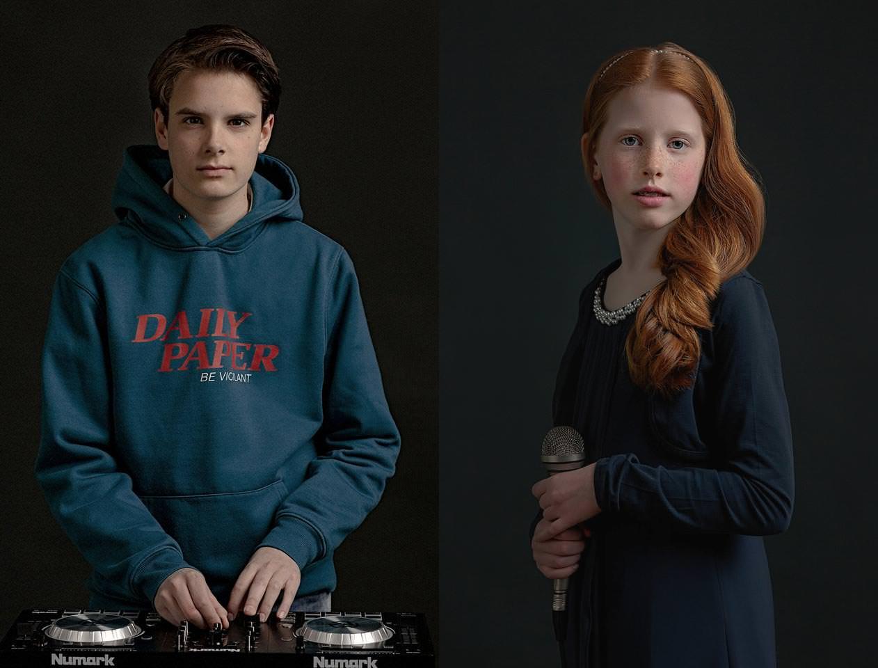 Lodewijk ( D.J.) en Lana ( zangeres)