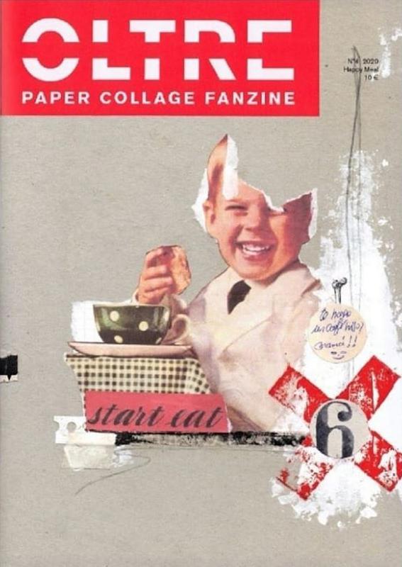 Oltre Collage n°4, Fanzine international de collagistes, 48 pages, 16.8x24cm, Oltre Collage , 2020