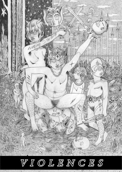 Violences n°11, Fanzine de 288 pages, 17x24cm, Luna Beretta, 2021
