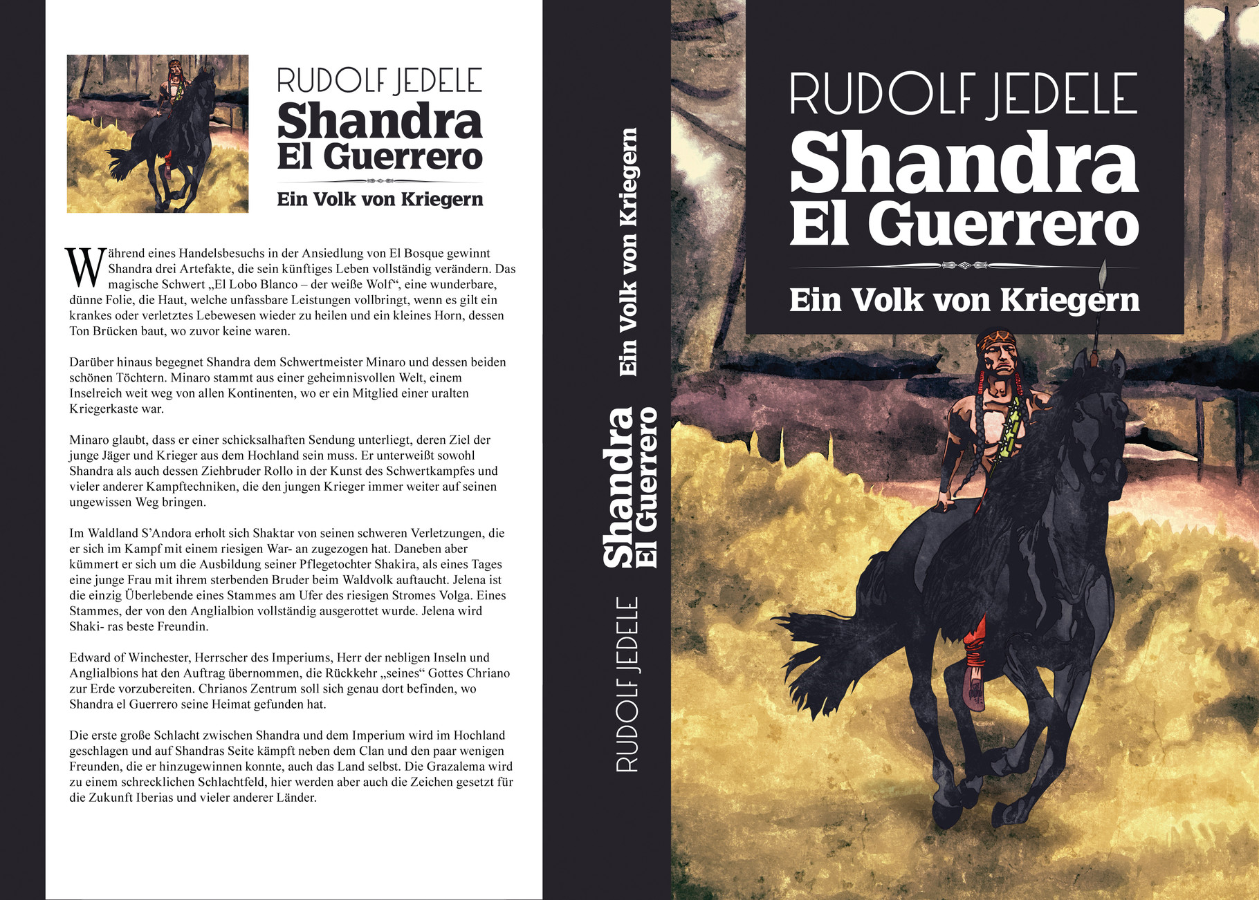 Ein Volk von Kriegern - Rudolf Jedele, Autor
