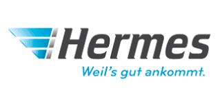 Sicherer und schneller Versand mit Hermes.