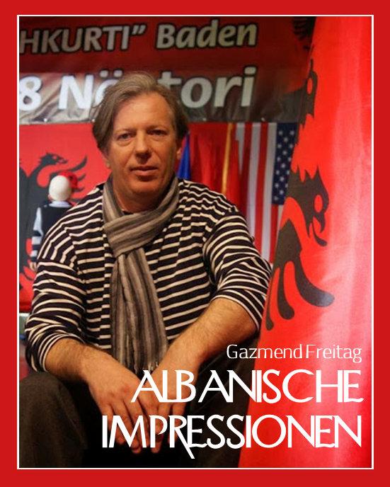 Albanische Impressionen von Gazmend Freitag, Vernissage am 20.01.2014, Osteria Allora in Wien