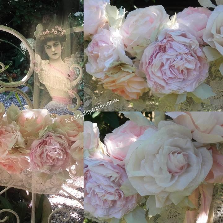 Guirlande de roses, plusieurs possibilités.