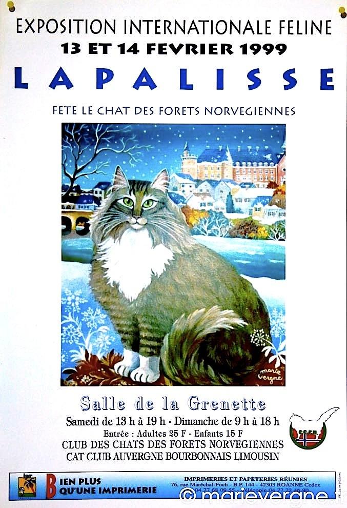 Exposition internationale féline - Lapalisse - 13 et 14 février 1999