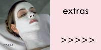 Gesichtsbehandlungen, Extras