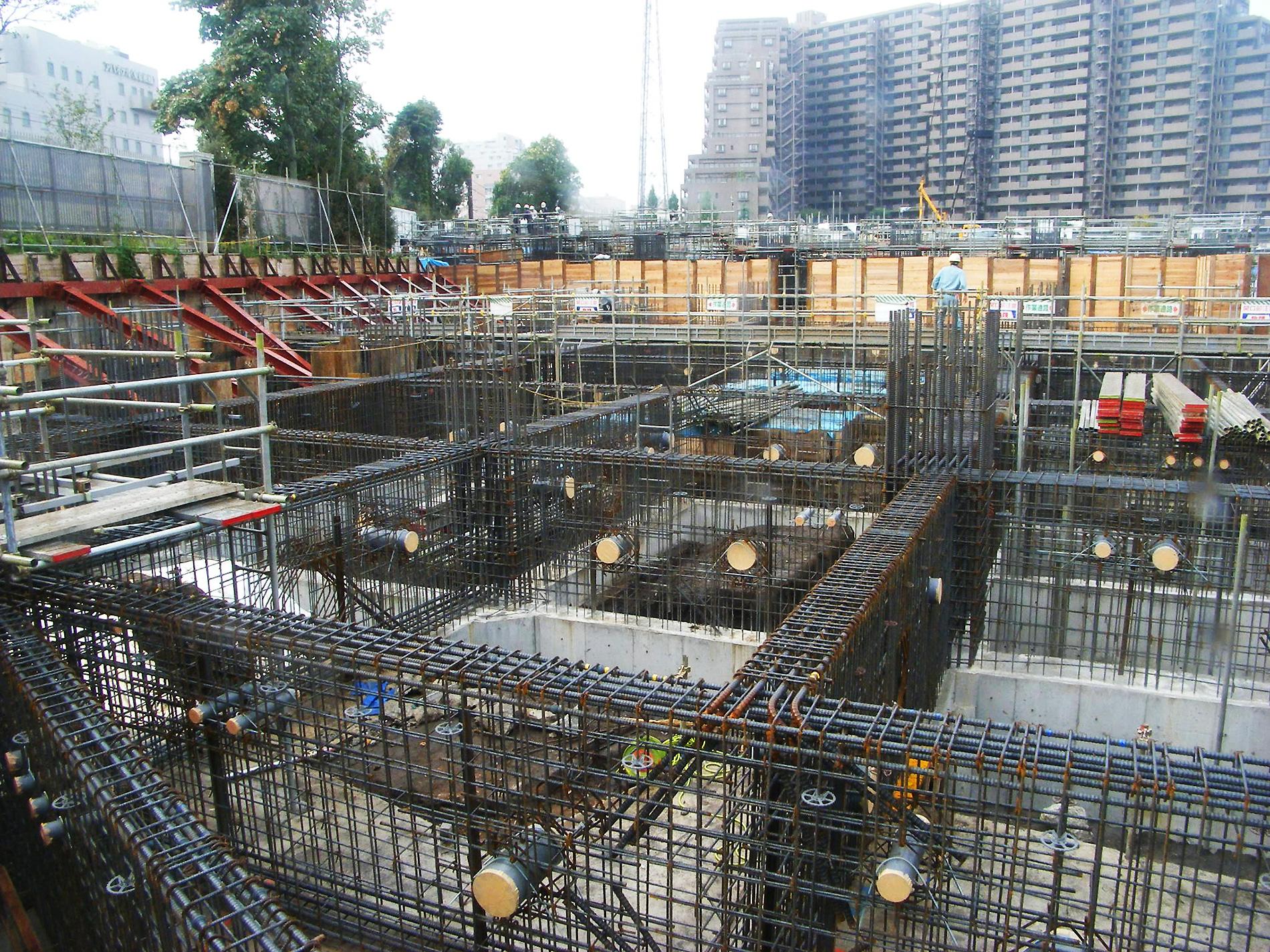 鉄筋が建築物の未来をつくる