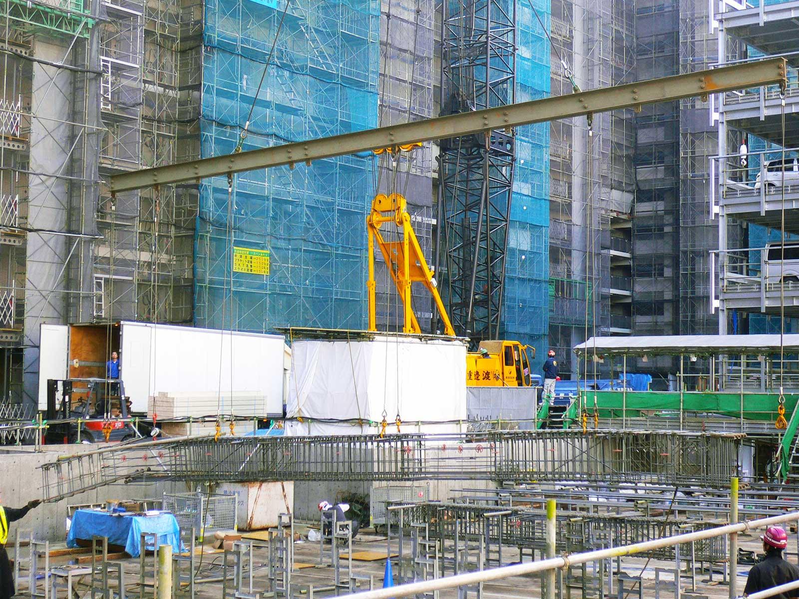 ビル建設に欠かせない鉄筋工事専門