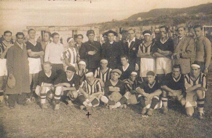 1934 Derthona-Juventus a Tropea