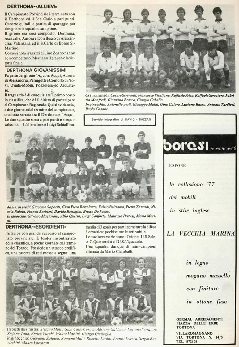 Santa Croce a Tortona 1977