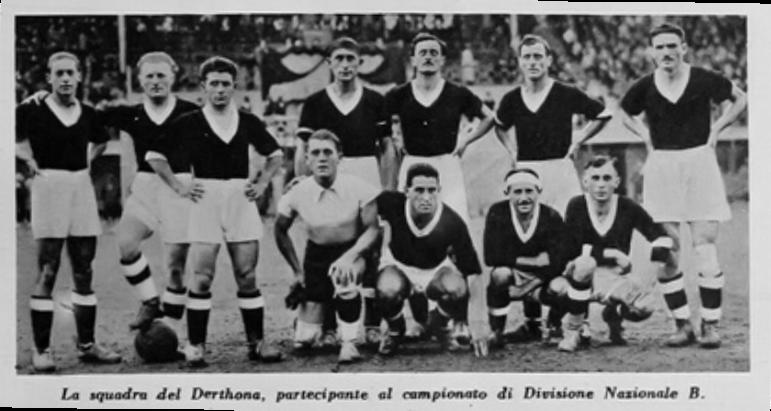 DERTHONA 1933 DIVISIONE NAZIONALE B