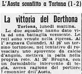 1959-60 DERTHONA-AOSTA 2-1