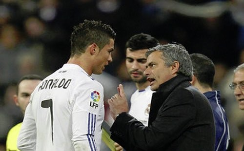 José Mourinho e Cristiano Ronaldo, due pezzi pregiati della scuderia di Mendes