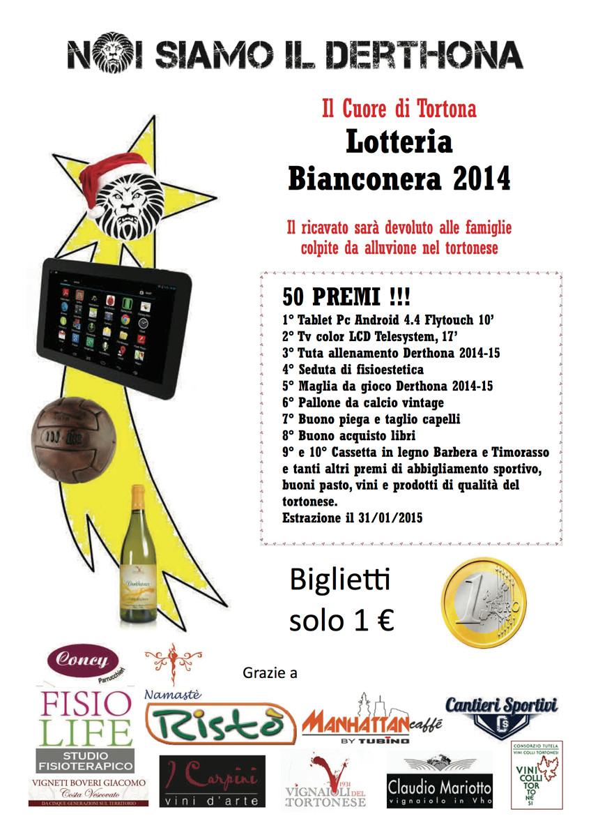 Lotteria Bainconera 2014