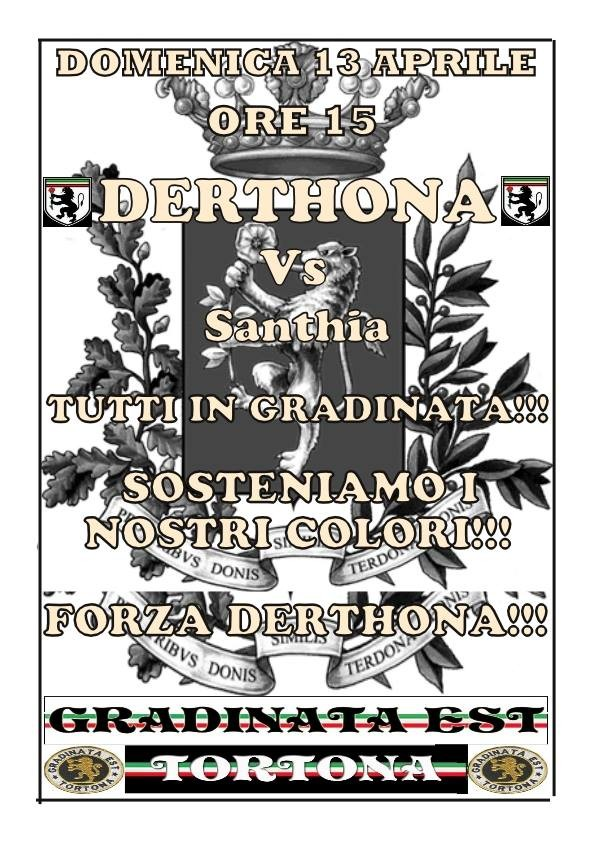 Locandina Derthona-Santhià 2013-14
