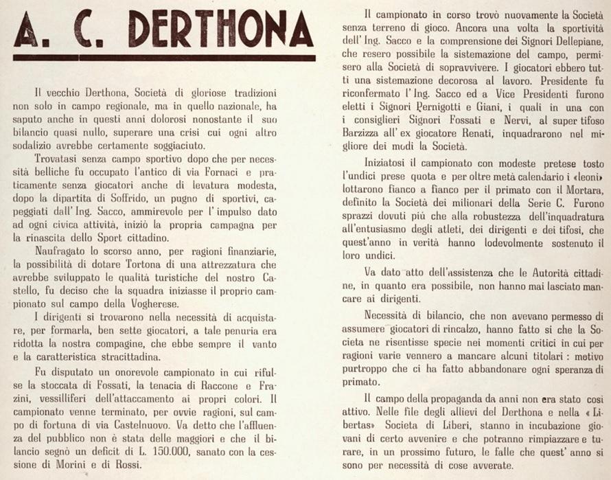 Santa Croce a Tortona 1941