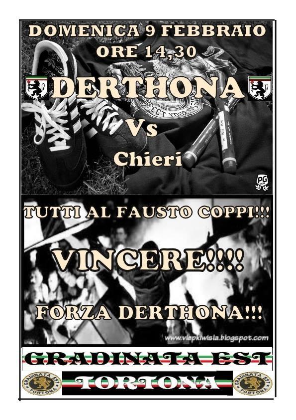 Locandina Derthona-Chieri 2013-14