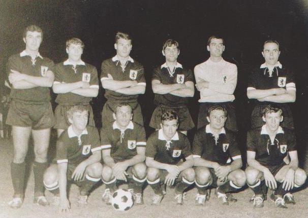 1968-69 Amichevole con la Juventus per i 60 anni del Derthona