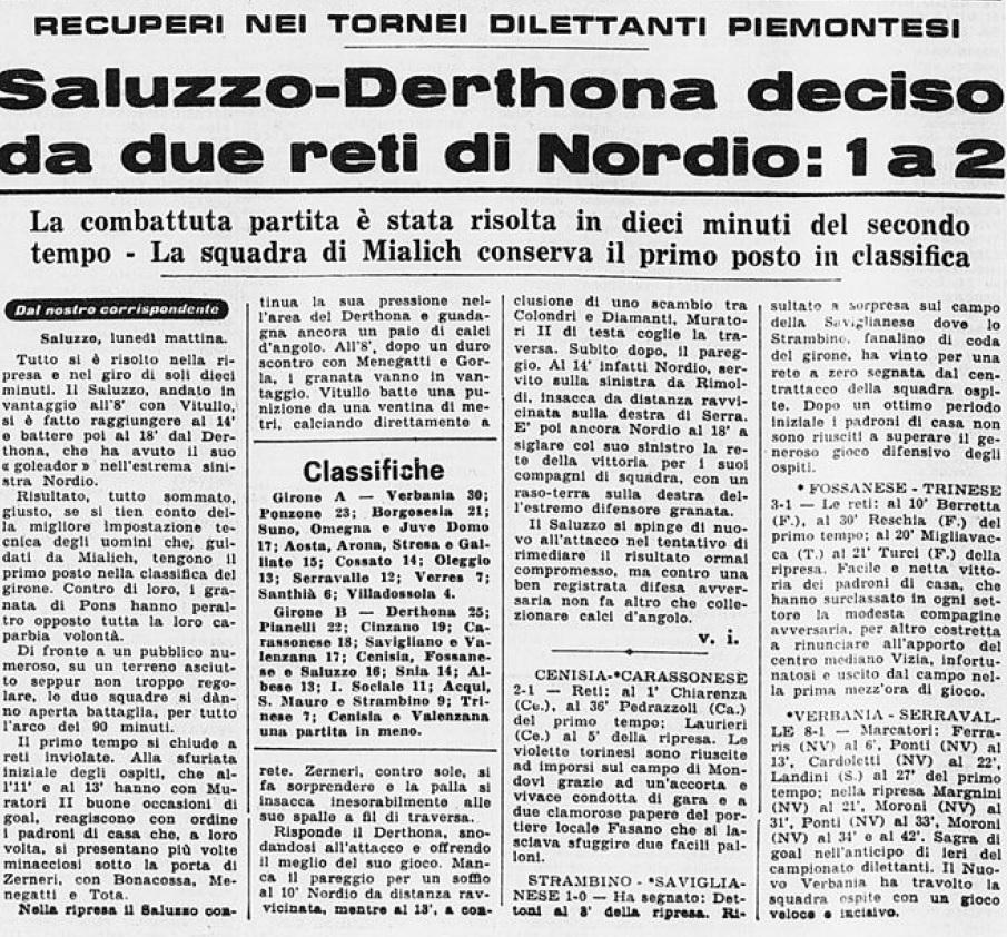 1965 SALUZZO-DERTHONA 1-2