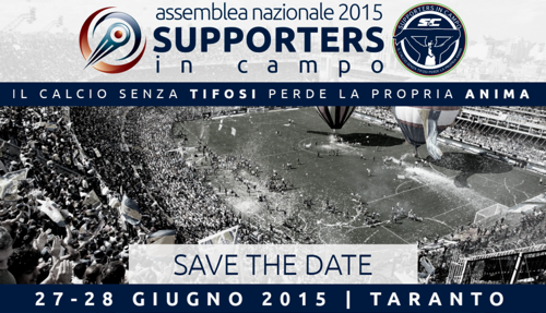2a ASSEMBLEA NAZIONALE 2015 SUPPORTERS IN CAMPO