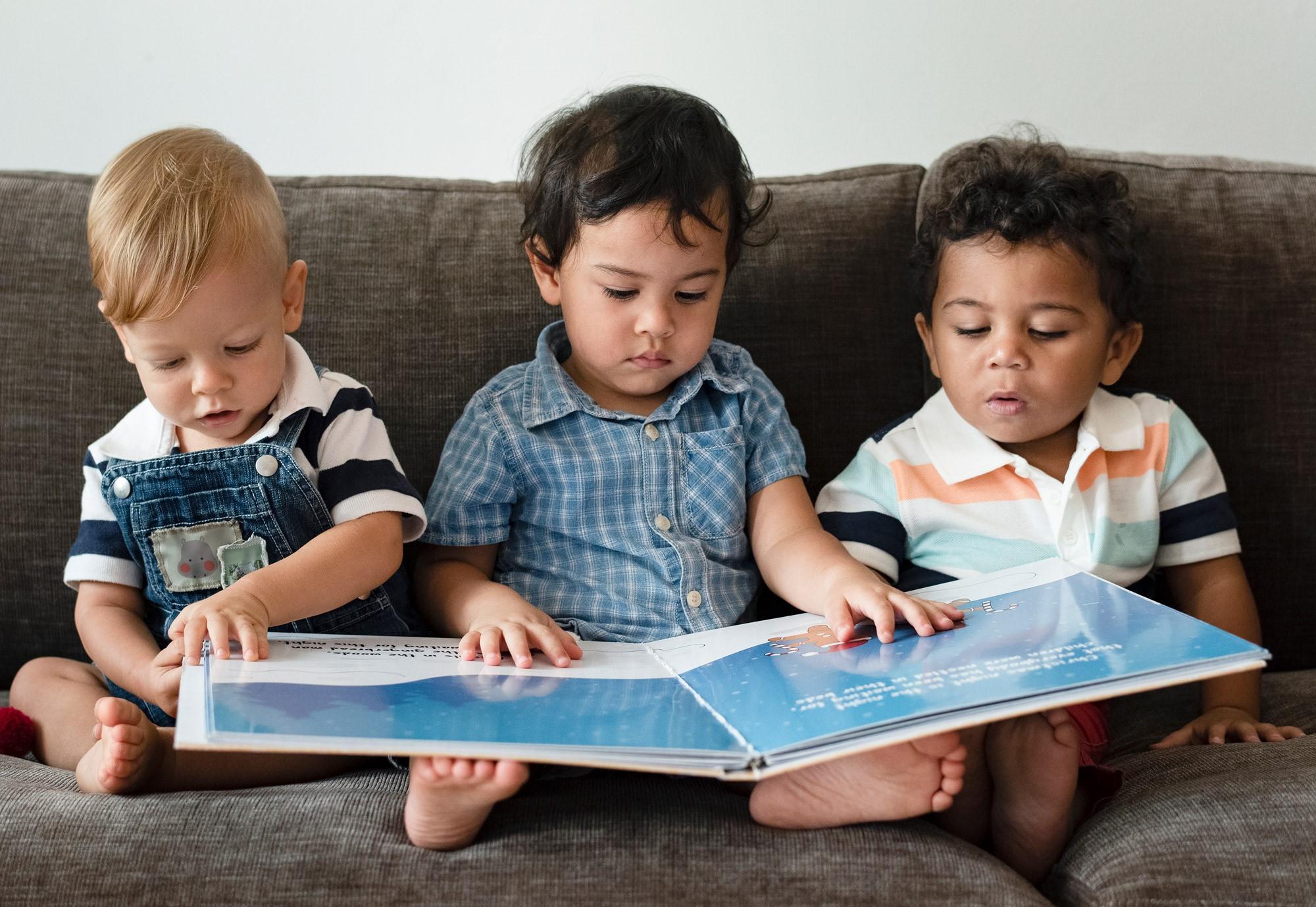 Bilderbüchertipps für zu Hause