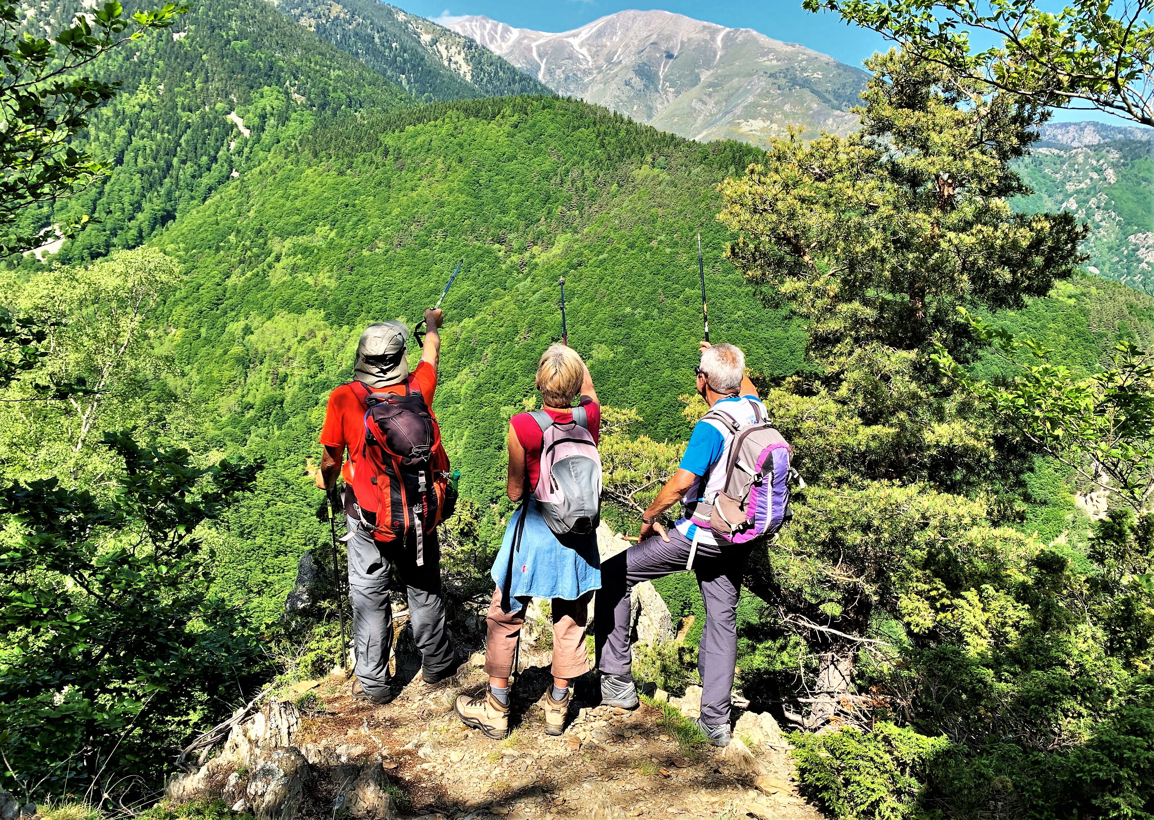 Randos Canétoises : Niveau 3 Col de Paloumere Mine de la Pinouse  - 7 juin 2019