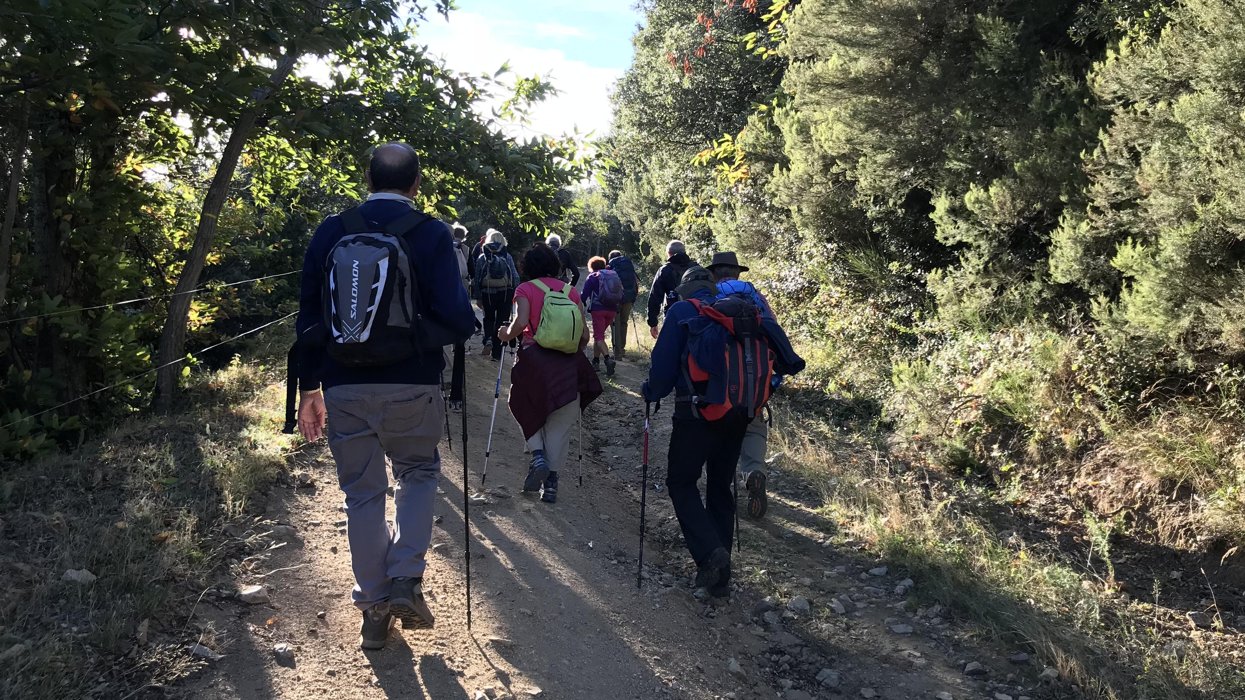 Randos Canétoises en rando Niveau 2. Riunogues col del Priorat, le 02 octobre 2018