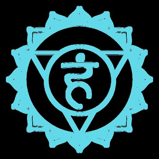 símbolo del quinto chakra