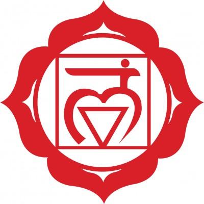 Símbolo del primer chakra