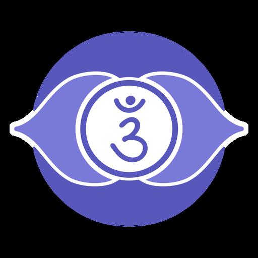símbolo del sexto chakra
