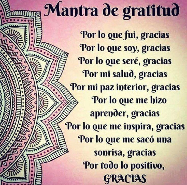 mantra de gratitud imágenes