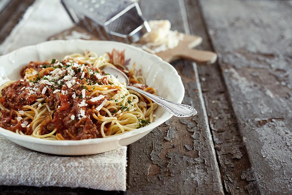 Spaghetti bolognese traditionale