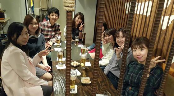 2015年5月現在、ひろば勤務中の日本人大学生インターンの皆様