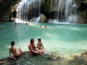 エラワンの第二の滝