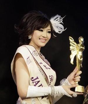 2010年準優勝の竹内亜美さん